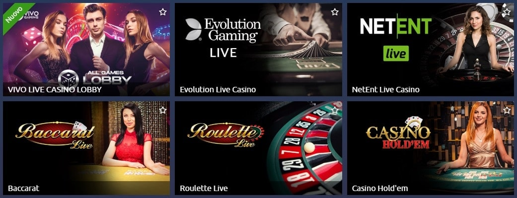 Live Casino TornadoBet