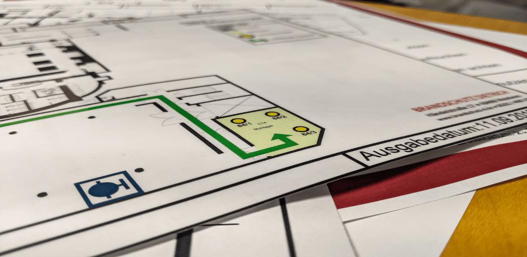 Feuerwehrlaufkarte