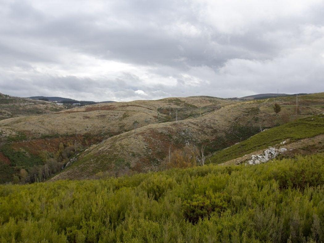 Vale do Lourêdo em Ribeira de Pena na Serra do Alvão