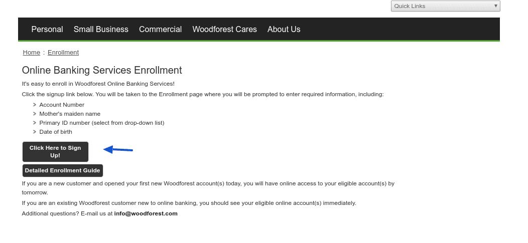 woodforest-enrollment