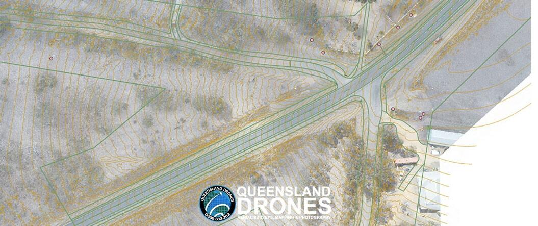 Precision Aerial Mapping with Planimetric Feature Overlay