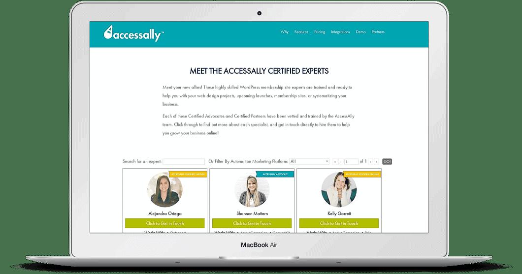successful online membership site