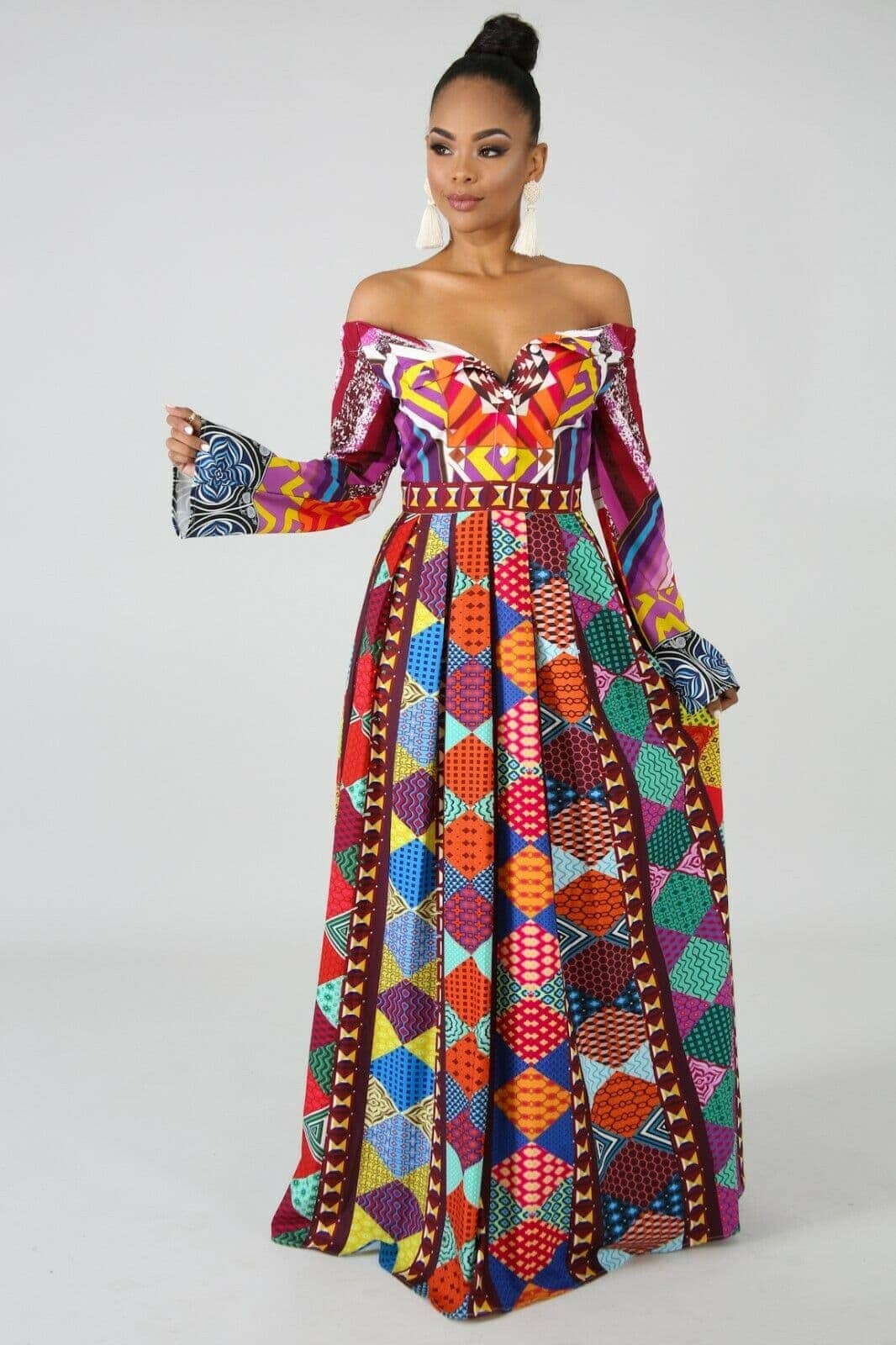 15922507d476 Who would have thought that African print clothes would look this good?  Check out this