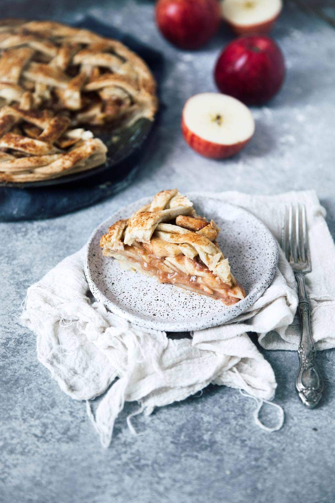 There's nothing better than homemade Apple Pie. Except maybe Salted Maple Caramel Apple Pie.