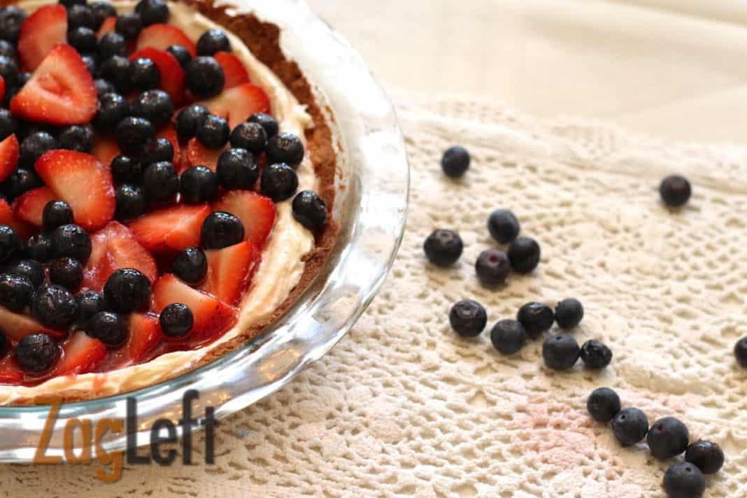Strawberry Tart from Zagleft e