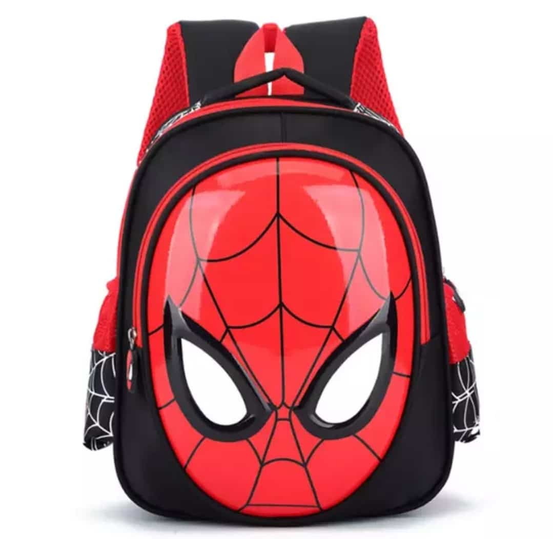 spiderman bag for kindergarten