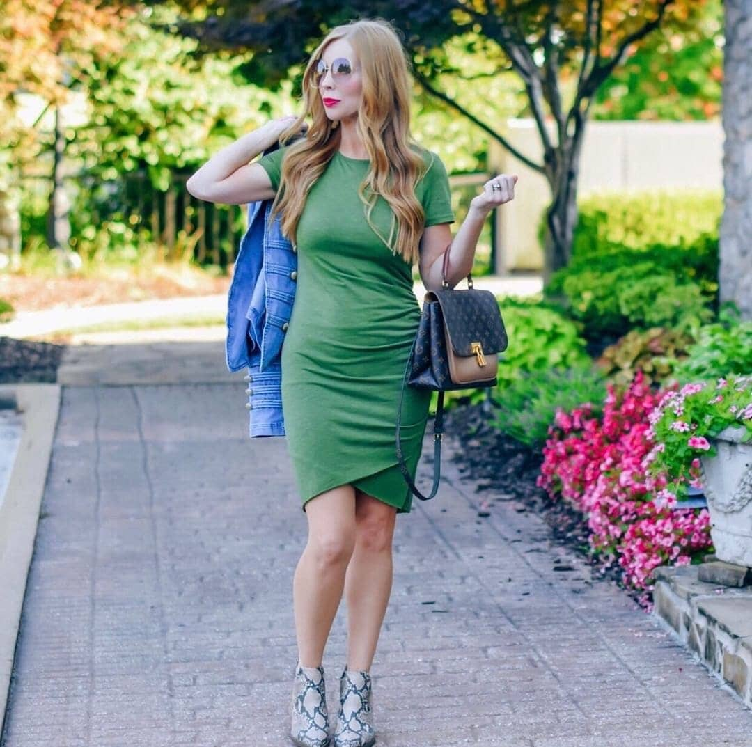 This top-rated asymmetrical dress is the perfect midi dress for summer and it's less than $30 on Amazon!