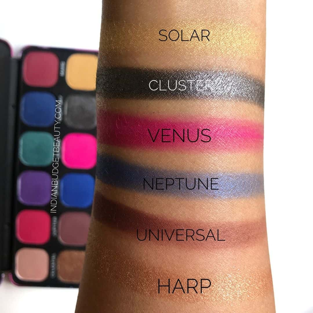 revolution forever flawless constellation palette swatches
