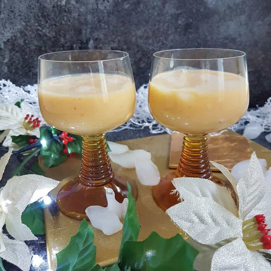 No Eggnog - a dairy free and eggless version of the festive drink