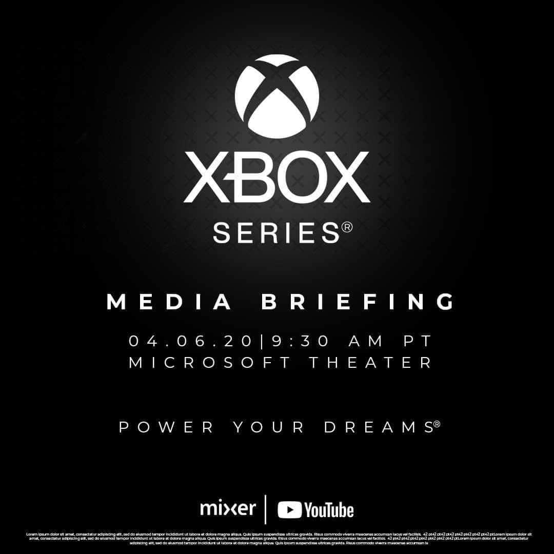 lançamento da nova xbox