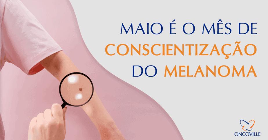 conscientização do melanoma