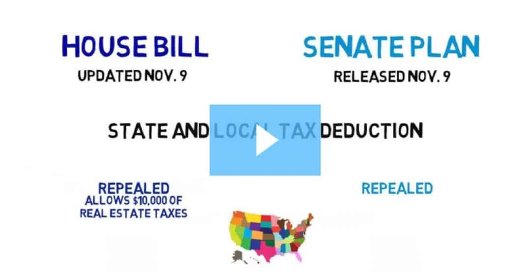 Key Differences Between the Senate and House Tax Plans [Video] Facebook