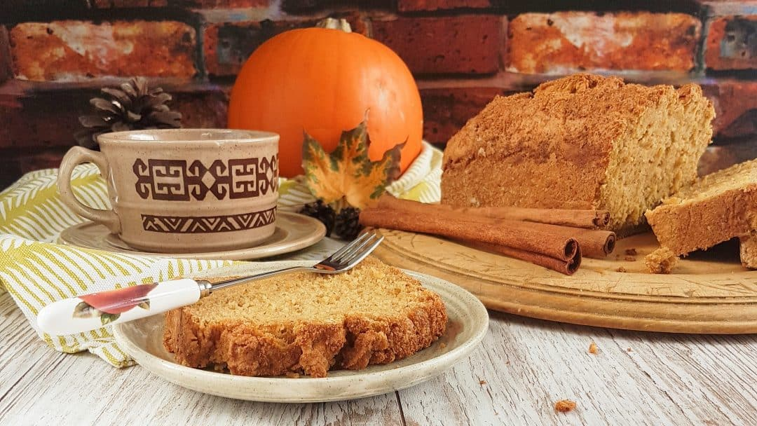 Gluten Free Pumpkin Loaf - also dairy and egg free