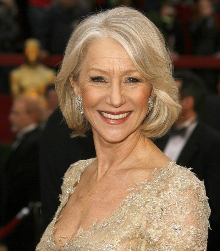 Style icon: Helen Mirren