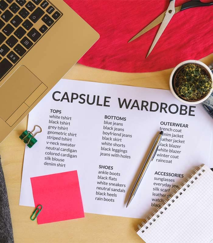 How to create wardrobe capsules that work