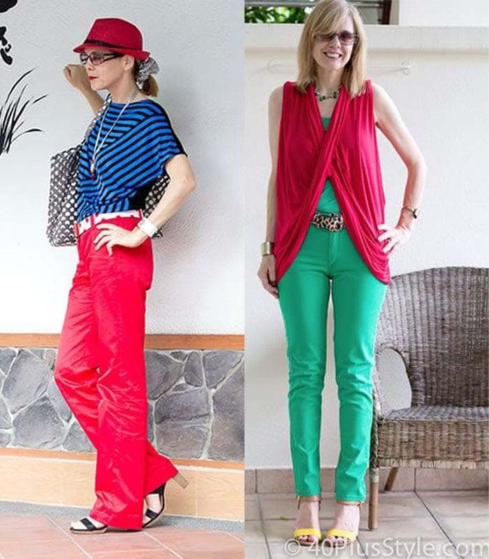 Dressing challenge: combine at least 3 colours and 1 pattern