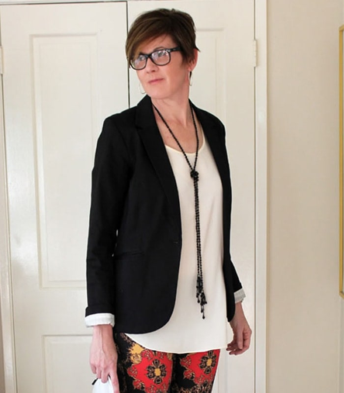 How to look modern and hip after 40 using mainly mass brands: Style lessons from Beverly