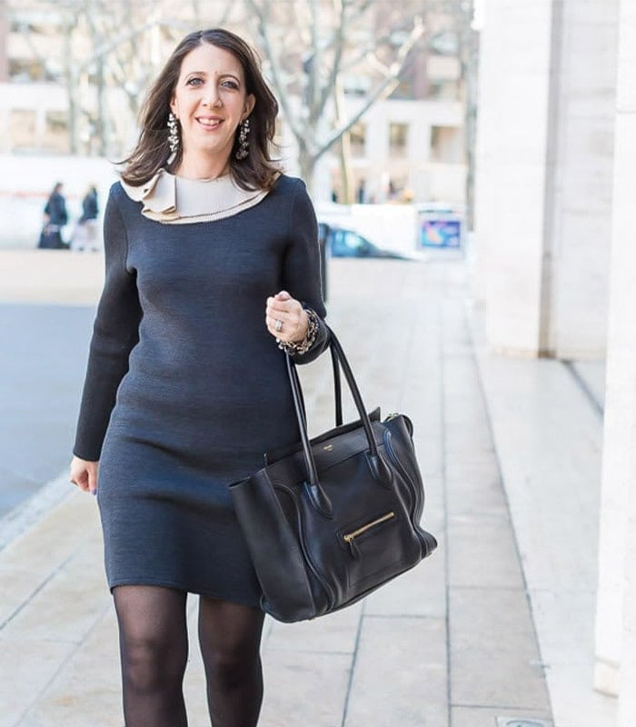 40+Style inspiration: dressing with poise and elegance