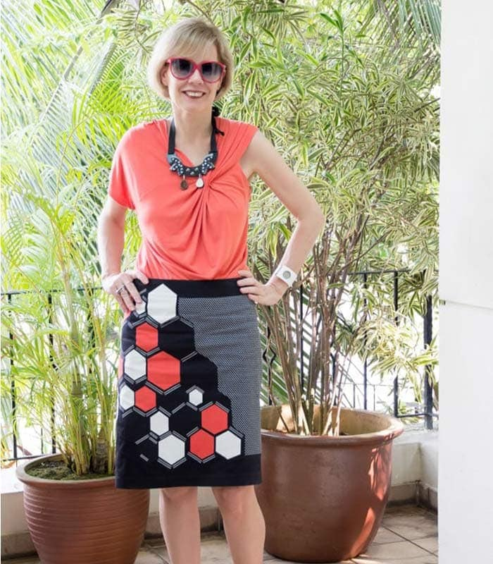 How to wear a printed skirt 4 different ways
