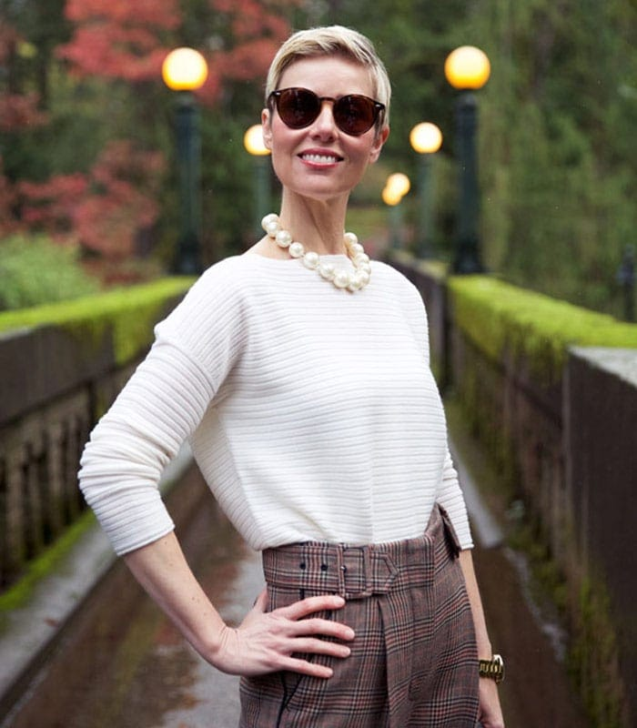 How to mix modern and trendy with classic style – a style interview with Angie