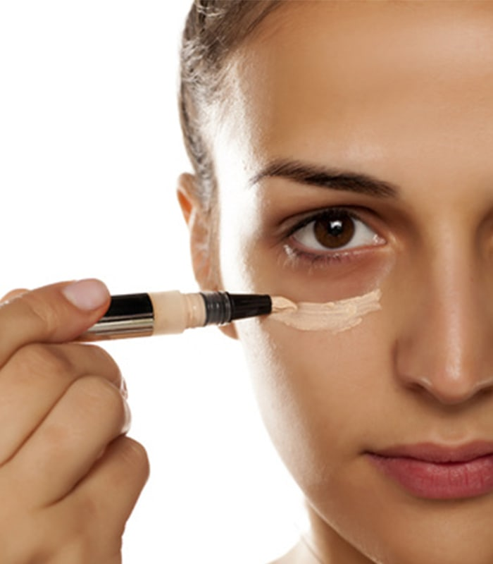 How to conceal dark circles under your eyes