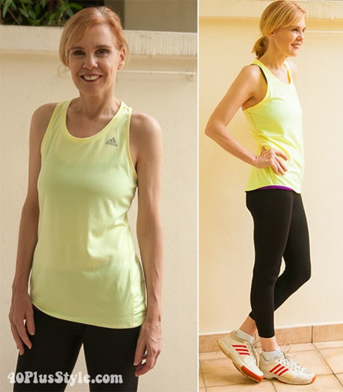 What to wear at fitness workouts? Here are some ideas for fitness clothes for women over 40!