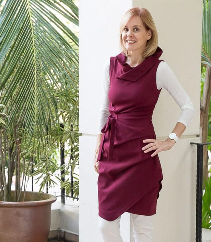 Capsule wardrobe challenge: how to wear a dress in winter