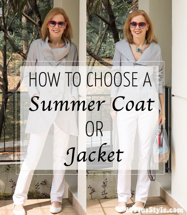 How to choose a summer coat or jacket + the best coats available online right now!