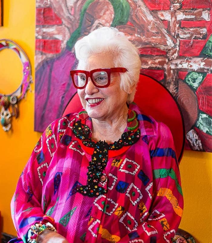 How to wear your art – A style interview with Sue Kreitzman