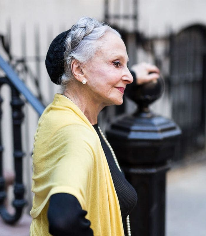 How to look elegantly chic – a style interview with Joyce Carpati