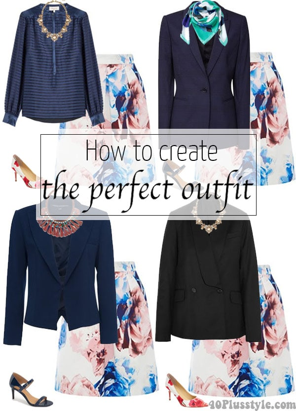 How to create the perfect outfit