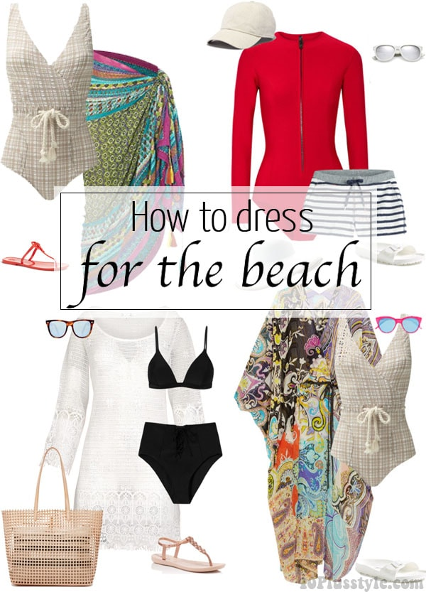 How to dress for the beach