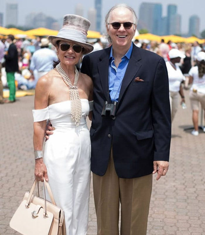 40+Style at the Veuve Cliquot Polo Classic in New York