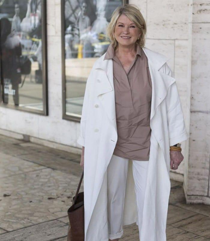 Martha Stewart spotted at New York Fashion week