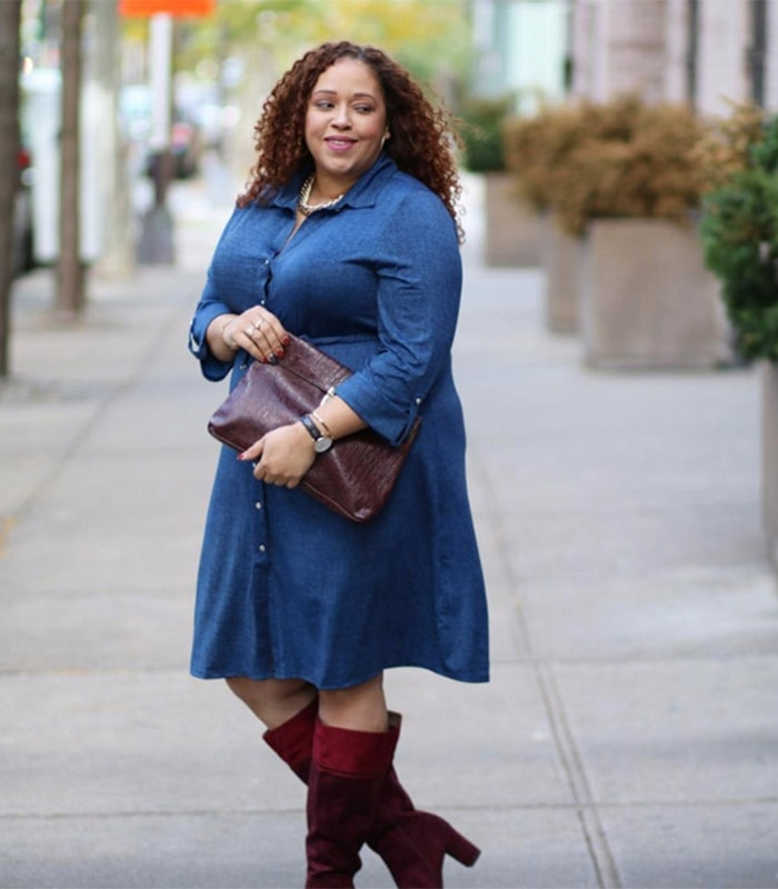 #40plusstyle inspiration: skirts and dresses in winter