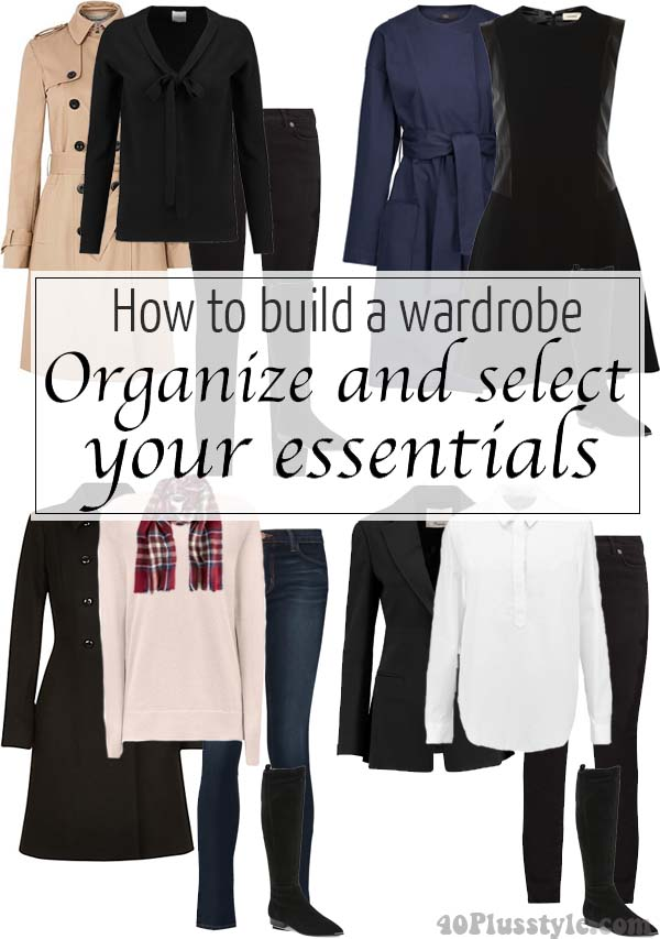 How to build a wardrobe part 2 – Organize and select your essentials