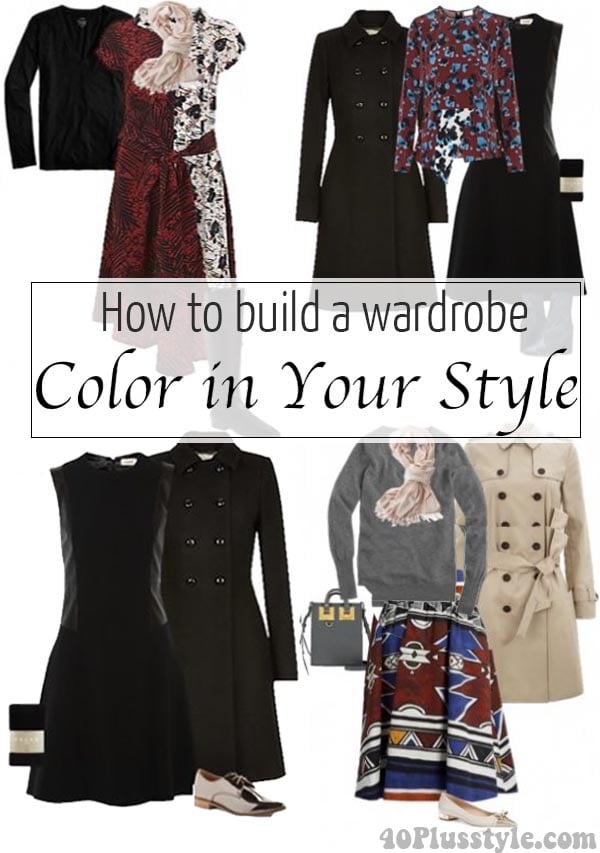 How to build a wardrobe part 3: Color in Your Style