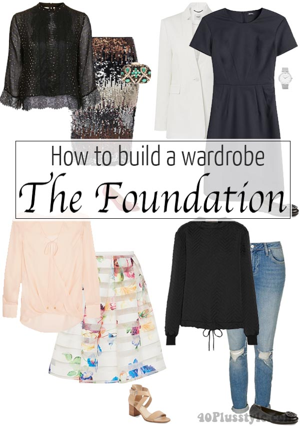 How to build a wardrobe part 1 – The Foundation