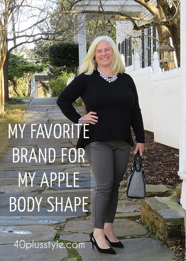 Brand focus: Alfani – A great brand for apple shaped women!