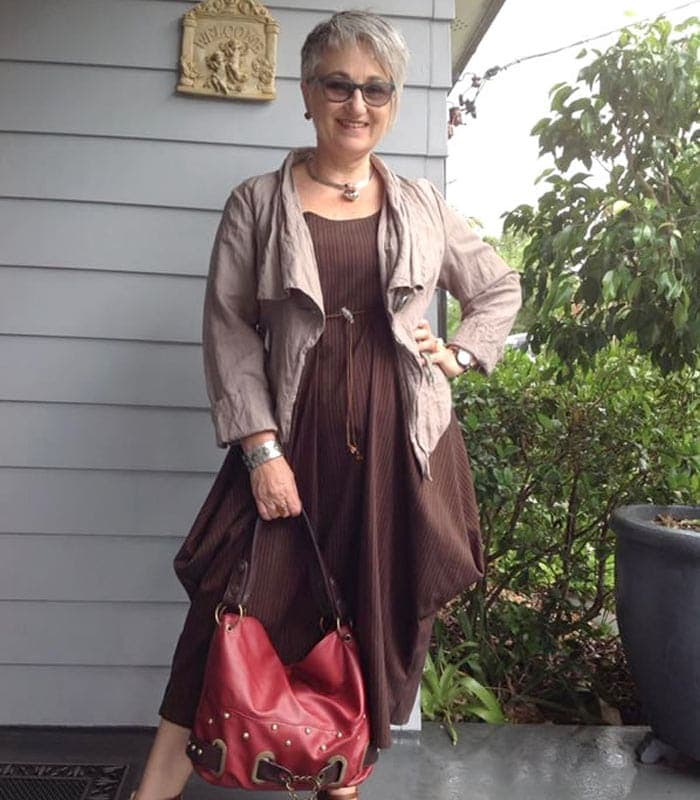 Elegant chic with a dramatic edge – A style interview with Deborah
