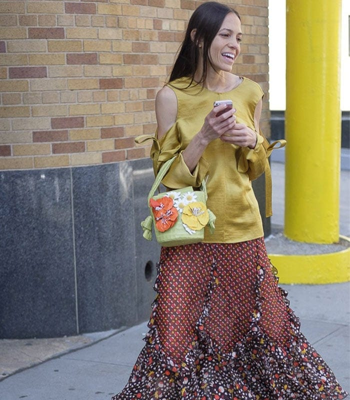 Streetstyle inspiration from New York: fabulous prints