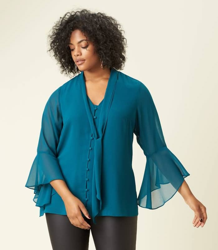 The best plus size tops for summer in stores now