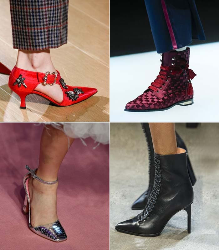 12 shoe trends for Fall 2018 – and the hippest shoes in stores now!
