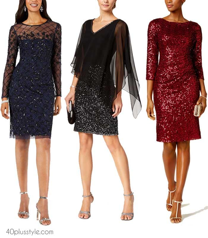Sequin dress outfits to sparkle in for the festive season