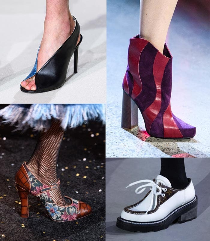 Trendy shoes and the best shoe trends for winter and fall 2019
