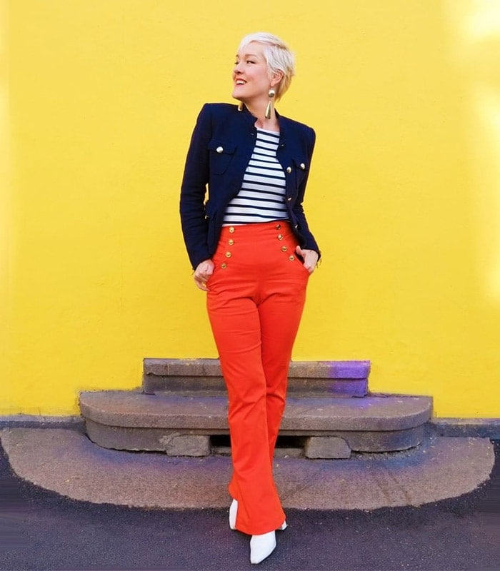 A style guide and capsule wardrobe for the PREPPY style personality