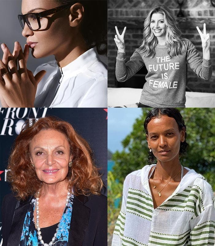celebrating female fashion founders for international women's day