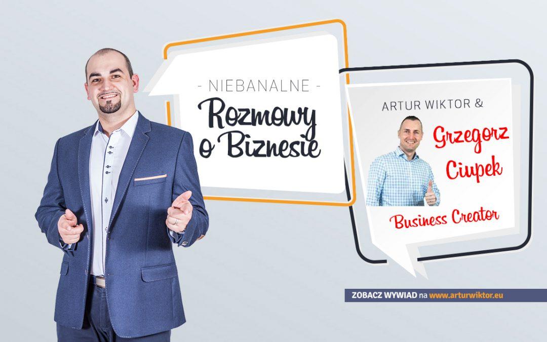 Niebanalne Rozmowy o Biznesie – Wywiad Grzegorz Ciupek
