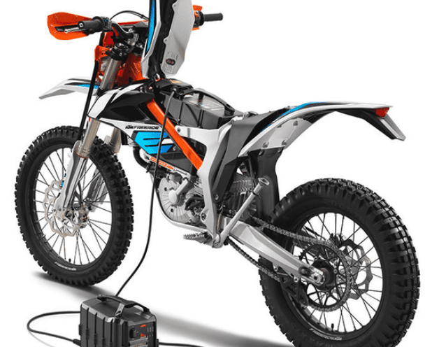 Electric dirt bike components