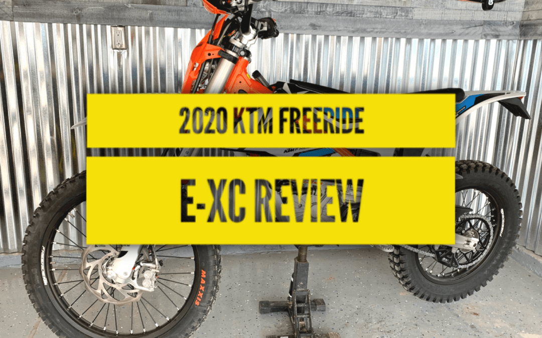 2020 KTM Freeride E-XC Review